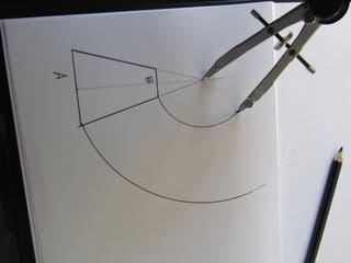how to find radius of a frustum